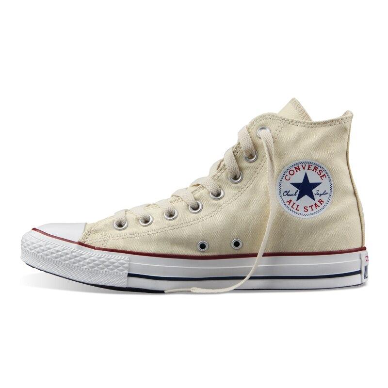 D'origine Converse all star chaussures hommes femmes sneakers toile chaussures tous les noir haute classique de Planche À Roulettes Chaussures livraison gratuite - 5