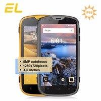 Original E L W5 Cellphones Waterproof Dustproof Phone Android 6 0 Quad Core 4 0 Inch