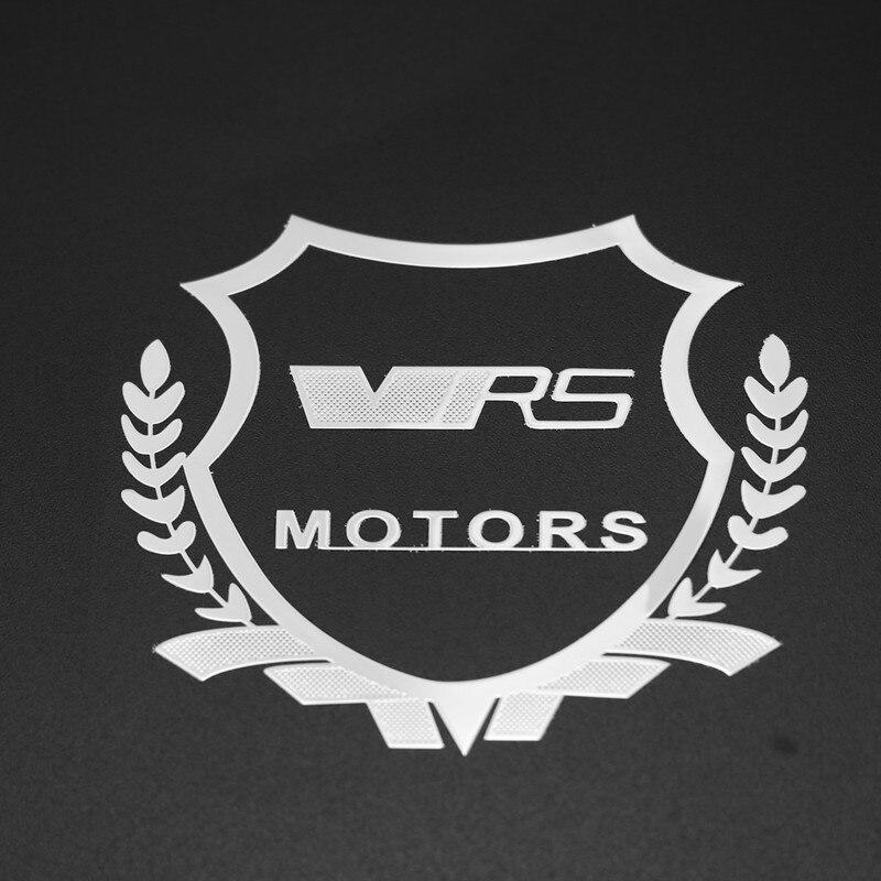 2pcs Excellent 3D metal car sticker Emblem Badge case For VRS Skoda Citigo Rapid Octavia a5 a7 Fabia Superb Yeti Auto Emblems