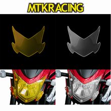 MTKRACING FOR Suzuki GSX-S750 GSX-S 750 GSXS 750 GSX S 750 2017-2018 motorcycle Headlight Protector Cover Shield Screen Lens цена