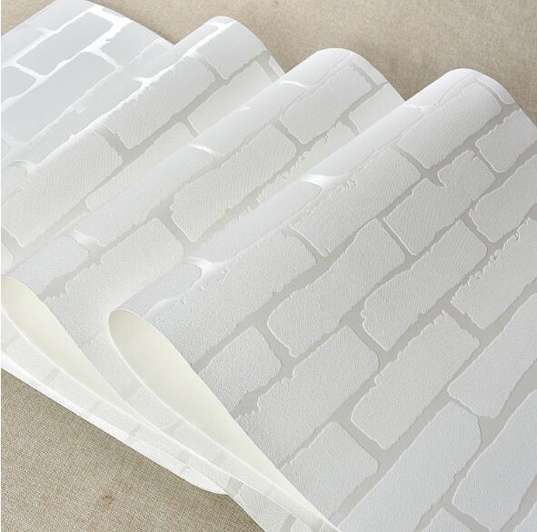 White brick wall paper wallpaper photo wallpaper for walls for White 3d wallpaper for walls