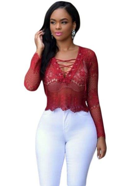 Fashion Sexy New Women Short Beautiful T Shirts See -9291