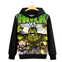 2017 NEW Green Giant 3D Printed Hoodie Cosplay Men Fashion Fall Winter Warm Sweatshirts Men's Casual Tracksuit Costume