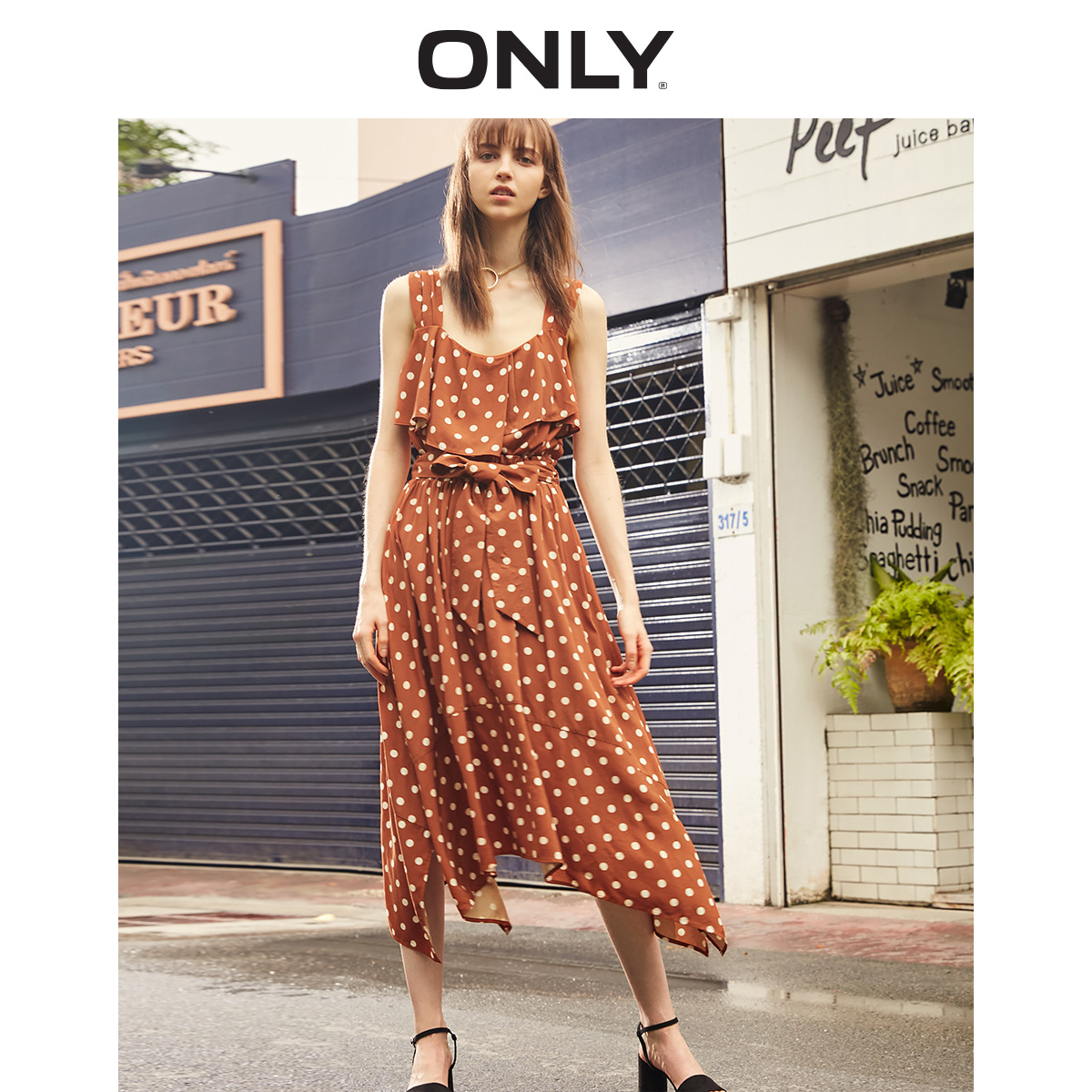 ONLY 2019 Summer A line Suit Dress  119107694