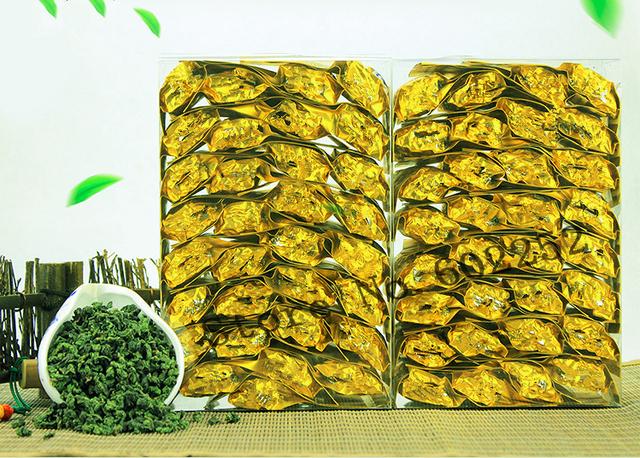 fit tea detox 250g total Oolong Tea ti yellow bags Anxi Tie Guan Yin Chinese tea Green tieguanyin the gaba tea loose
