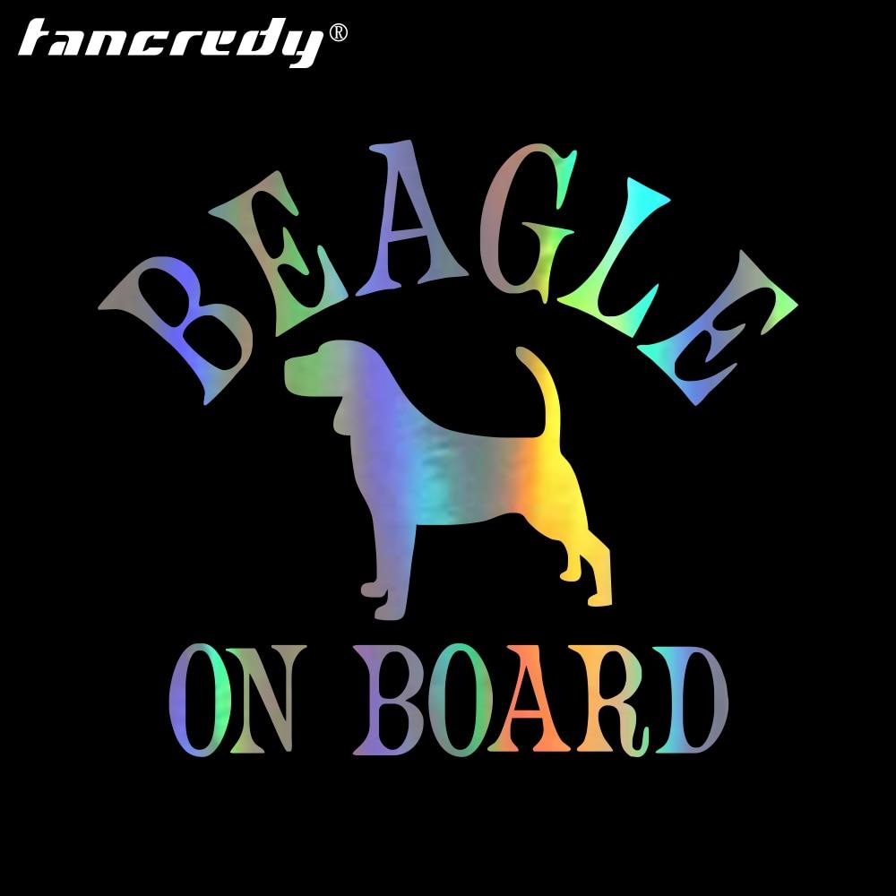 The 2nd Half Price Beagle on board car decals 13*13CM Car