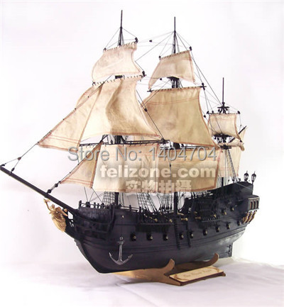 Nidale Model Classics Wooden Ship Model Kits Pirate Ship Model Scale