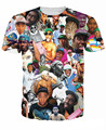 Women Men 3D tee Tyler the Creator Paparazzi T-Shirt wild rapper Tyler Okonma T Shirts Wolf Haley tees Ace Thurnis Haley Tops
