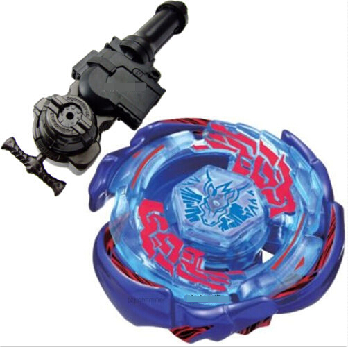 1PCS Galaxy Pegasus (Pegasis) W105R2F Metal Fury 4D Legends Beyblade Hyperblade BB70 Beyblade +L-R Starter Launcher + Hand Grip