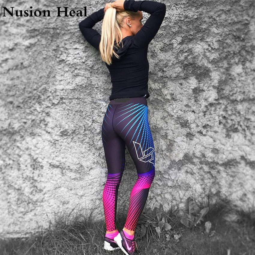 Print Yoga Pants Women Unique Fitness Leggings Workout Sports Running Leggings Sexy Push Up Gym Wear Elastic Slim Pants With Traditional Methods Asia & Pacific Islands Clothing