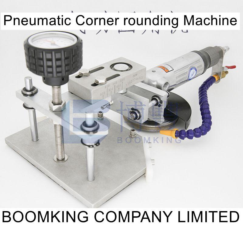 Pneumatic corner rounding machine for glass ceramics stone Grinding tools BOOMKING Glass tools