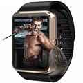 Smart watch gt08 notificador de sincronização do relógio cartão sim suporte a conectividade bluetooth para samsung android telefone relógio smartwatch dz09 pk