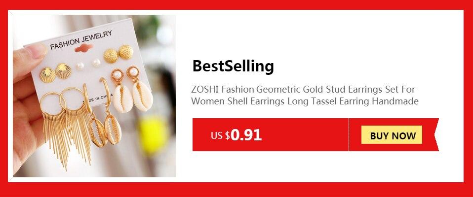 ZOSHI , Luxe Autrichien, Cristal Opale Fleur Pendentif, Bijoux Couleur Or Perles Africaines ,