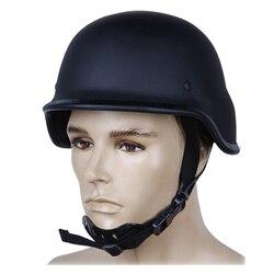 NIJ IIIA M88 PASGT Стиль Военный стальной пуленепробиваемый шлем с тестовым отчетом принадлежности для самообороны