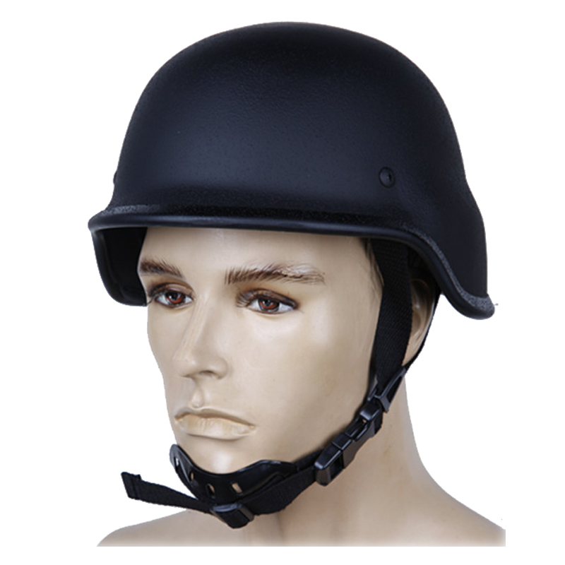 NIJ IIIA M88 PASGT Style Military Steel Bulletproof Helmet With Test Report Self Defense Supplies