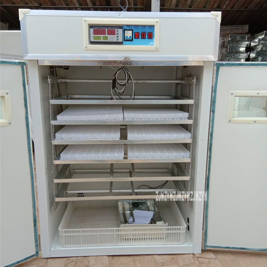 HT-1056 All-In-One Digital Egg Incubator Egg Hatching Machine Intelligent Automatic Hatcher Microcomputer Thermostat Hatchery
