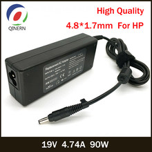 QINERN 19V 4.74A 90W 4.8*1.7mm AC Laptop Charger Power Adapter For HP G70/G70t/G71 Laptop Adapter For HP Portable Charger(China)
