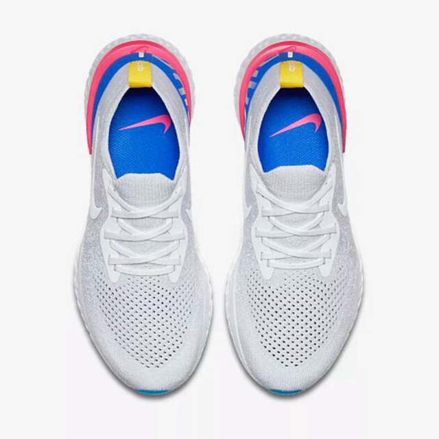 New Arrival Original Official Nike Epic React Flyknit Mens Running Shoes Sneakers Sport Outdoor Good Breathable AQ0067-101
