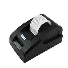 Excessive Pace unique USB Port 58mm Thermal Receipt Printer POS printer Low Noise Mini thermal Printer XP-58IIA wholesale