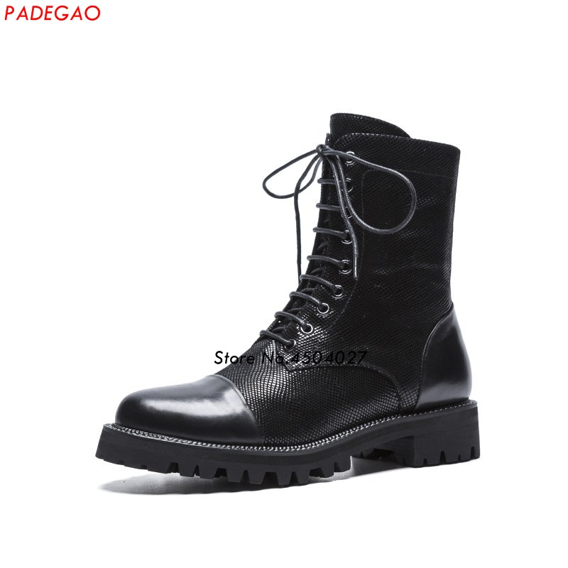 81fd3c71258e Zipper Bottines Mujer Femmes Bottes Zapatos New Style Courtes Chaussures  Mode Rond Bout Punk Lacent v7gcpPf