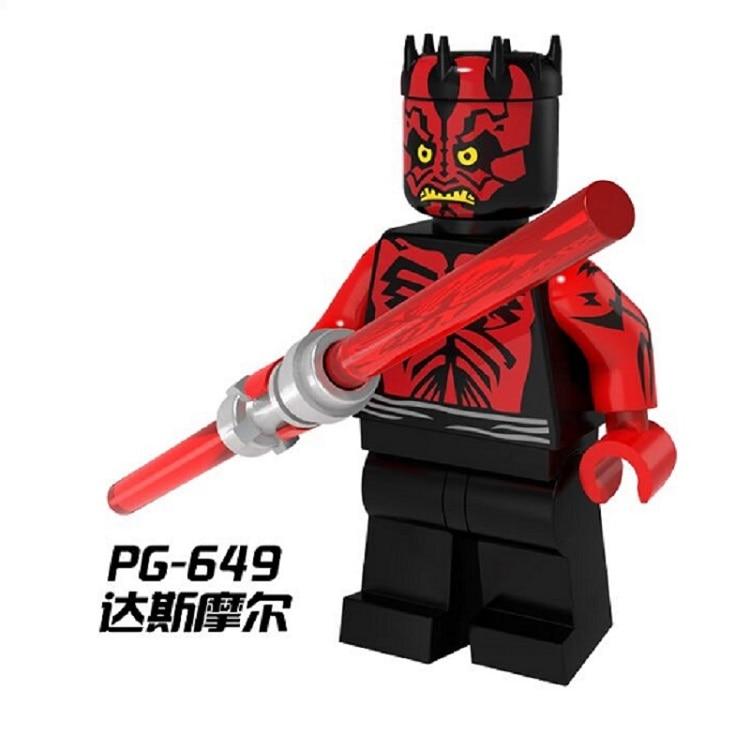Building Blocks Star Wars Single Sale Darth Maul Luke Skywalker C3PO Sith Warrior Bricks Children Collection Gift Toys PG649 exclaim серьги серебряные с цирконами и жемчужинами