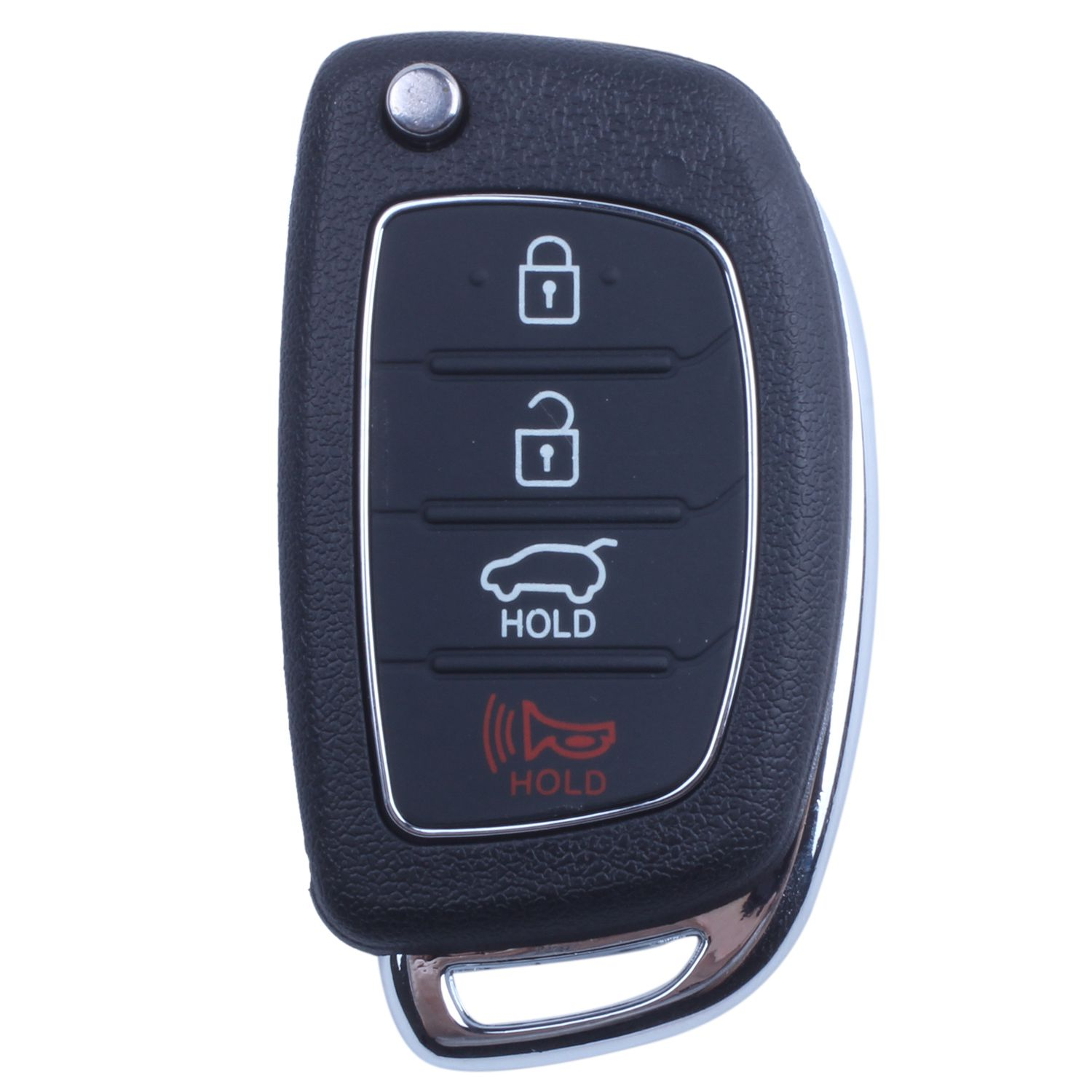 Flip Key Shell Fit For H Y U N D A I Santa Fe Remote Key Case Fob 4 Button Pg180d Top Watermelons