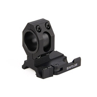 PPT Tan Black Color 6063 Aluminum Material 30mm/25.4MM Ring Diameter QD Quickly Detach Scope Mount HS24 0136