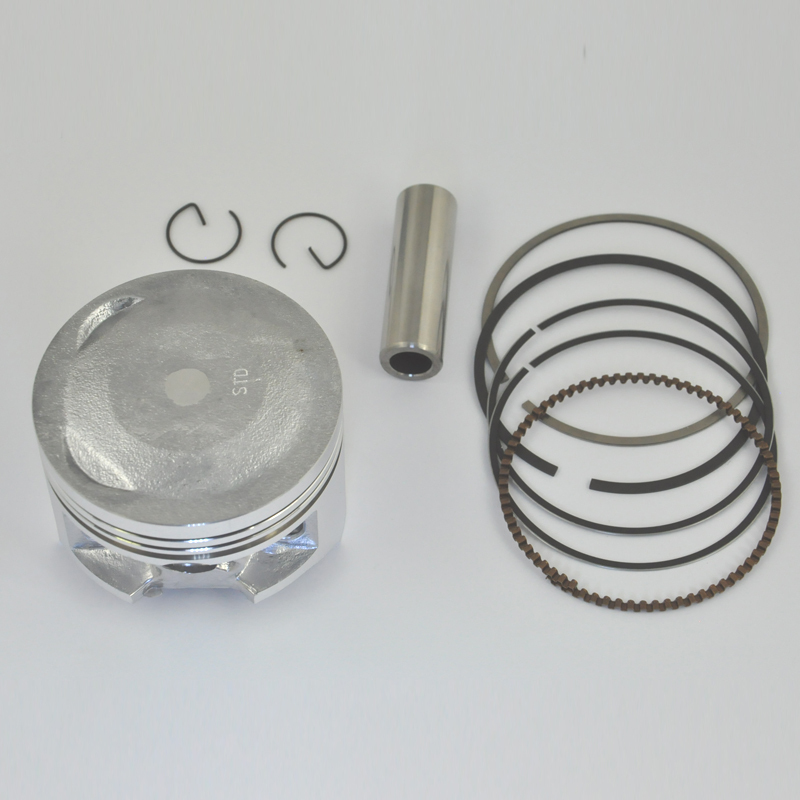 Motorcycle Engine Parts Std Cylinder Bore Size 66mm: High Performance Motorcycle Piston Kit Rings Set For XR250