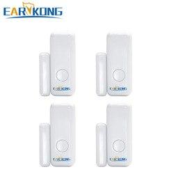 433MHz bezprzewodowy czujnik otwarcia drzwi do PG-103 W2B WIfi GSM System alarmowy RFID