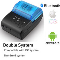 Zjiang ZJ 5805 58mm thermal printer Bluetooth Android Thermal POS Receipt Printer Bill Machine For Supermarket Printer Bill