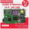 For ASUS K50ID K50IE K40ID Laptop Motherboard Mainboard Rev 3 0 100 Tesed Free Shipping