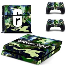 Tom Clancy's Rainbow Six Siege PS4 Skin Sticker Decal For PlayStation 4 Console and 2 Controllers PS4 Skins Sticker Decal
