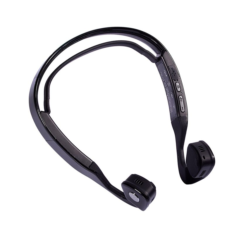S WindShear Bone Conduction Wireless Bluetooth Headset Outdoor Sports Headphone Earphone Hands-free with Mic for Smart Phones Ta each g1100 shake e sports gaming mic led light headset headphone casque with 7 1 heavy bass surround sound for pc gamer
