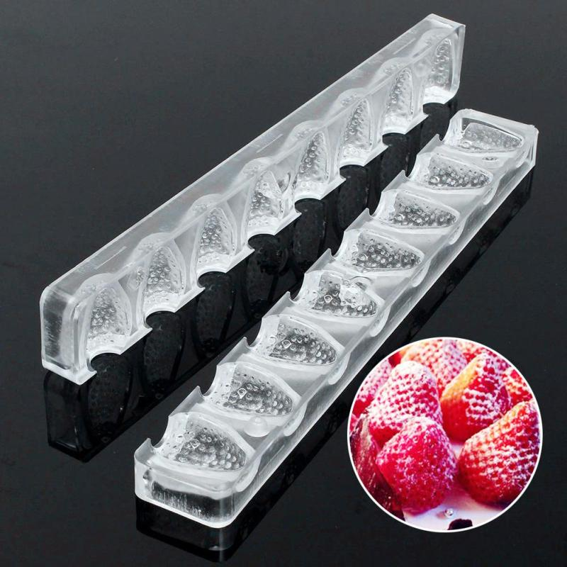 Strawberry 3D Baking Kitchen Silicone Chocolate Mold as Cake Dessert Decoration for Chocolate