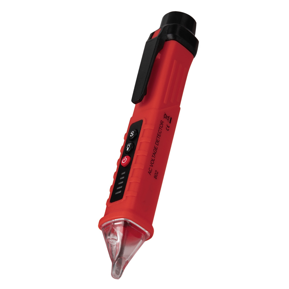 Digital Non Contact AC Voltage Detector Pen to Measure Up to 12 to 1000V Voltage Range
