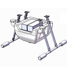Semprot Pertanian pompa Tangki Air + Landing Gear Serat Karbon drone 10 KG Pertanian Quadcopter Hexacopter UAV