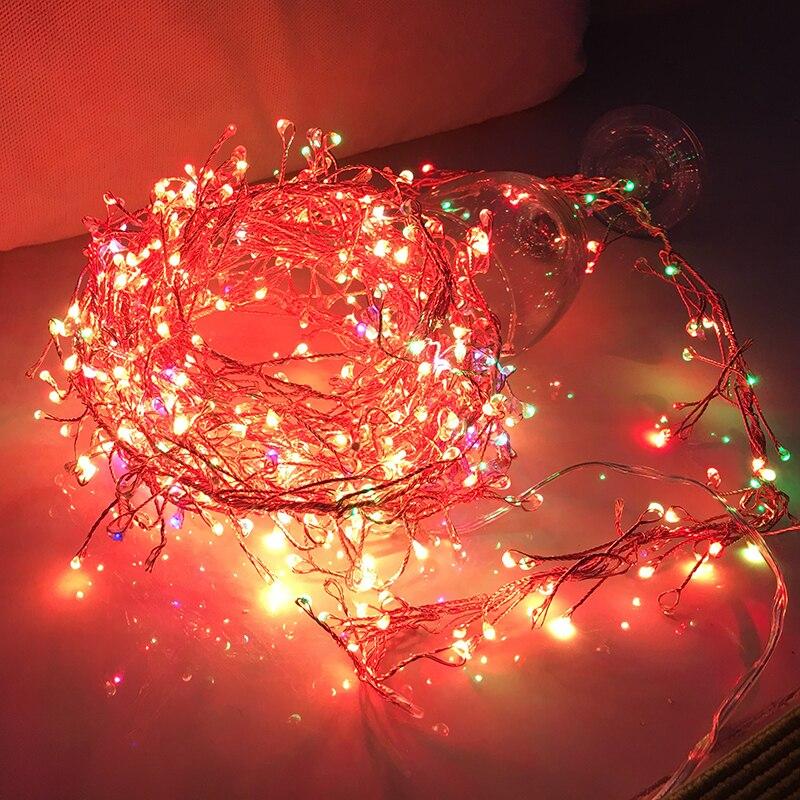 RGB auto twinkling firecrackers fairy light - 137.8
