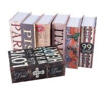 NEW Home Hidden Security Dictionary Book Safe Cash Jewelry Storage Key Lock Box Secret Book Case