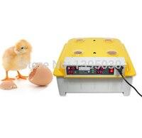 Incubadora digital 48 ovos automático hatcher com controle de temperatura