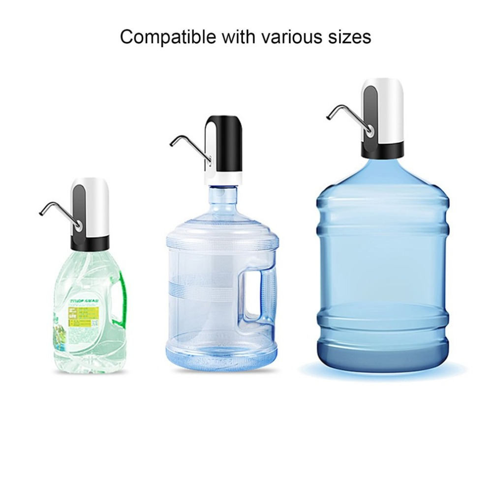 Kitchen Water Bottle Water Dispenser Electric Water Pump Portable Rechargeable Wireless Drinking Bottles Sport Camping Tool цена