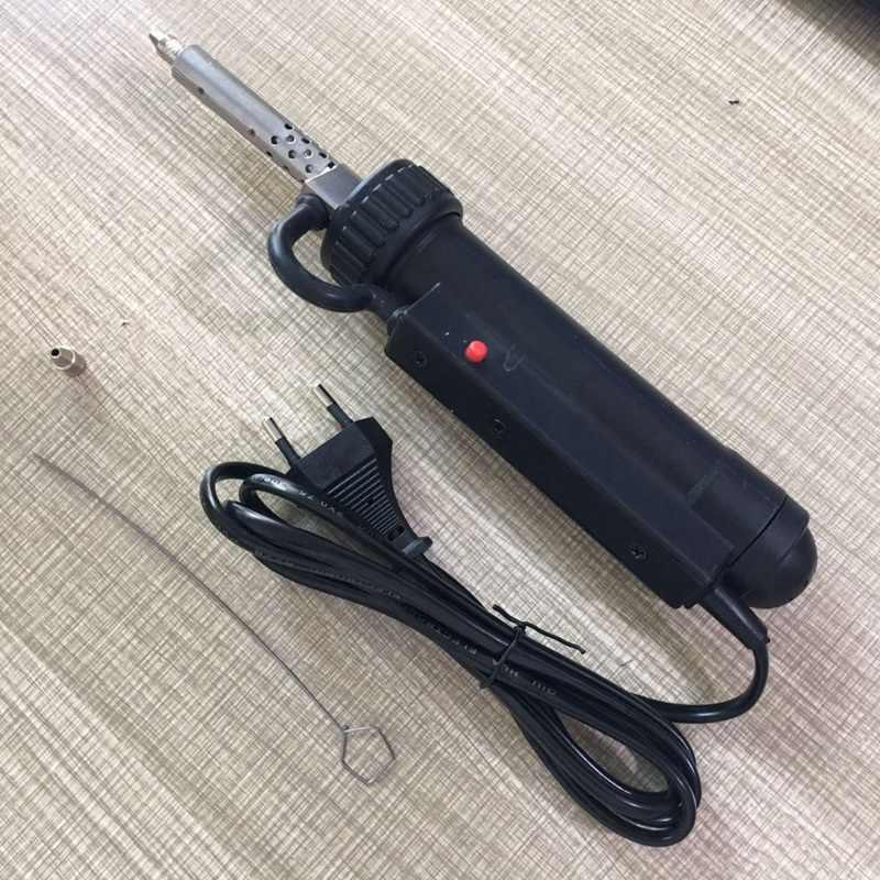 Горячая продажа 30 W 220 V 50Hz электрический вакуумный припой/отпайка насос/Железный пистолет паяльные инструменты автоматический всасывающий Олово