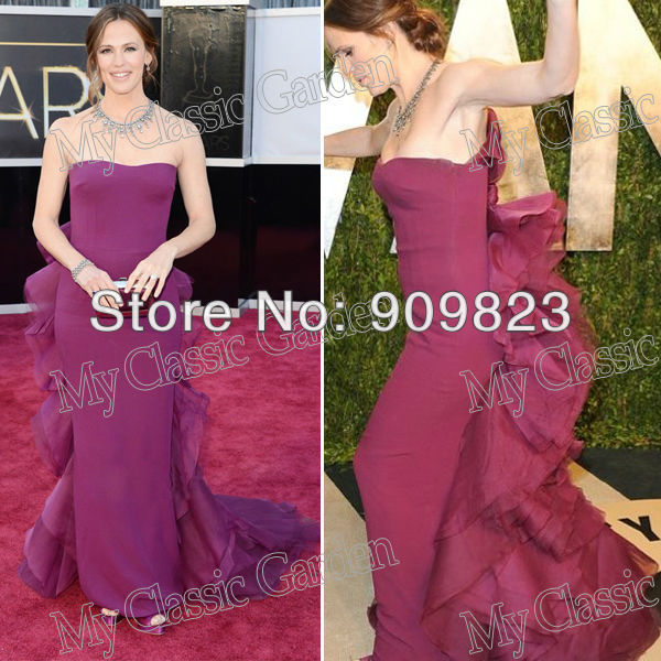 Aliexpress.com : Buy 2013 Oscar Awards Jennifer Garner Sweetheart ...