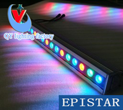 24W reflektory LED LED RGB typu wall washer mycia lampy ogrodowe na zewnątrz plac powódź krajobraz lampa świecąca W dół lampa