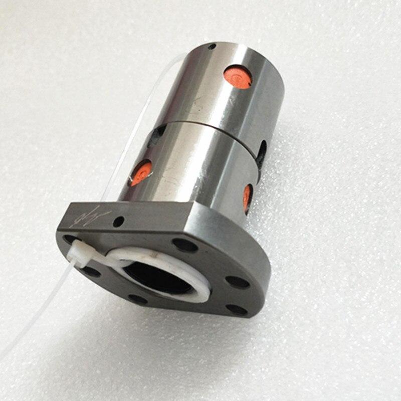 SFU RM2505 vis à billes SFU2505 200-2550mm 25mm vis à billes C7 avec 2505 2510 bride simple/Double écrou BK/BF20 extrémité usinée pour pièces de CNC - 6