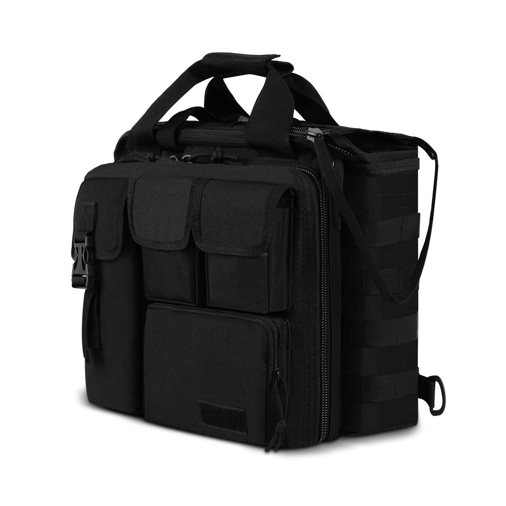 Mens Military Laptop Messenger Bag Multifunction Outdoor Tactical Briefcase Computer Shoulder Handbags for 17 Inch