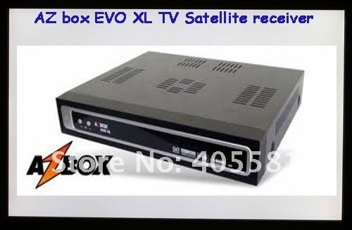Digital TV satellite receiver 15pcs/lot  azbox evo xl,evo XL decoder,evo xl updated by usb, DHL free shipping in stock