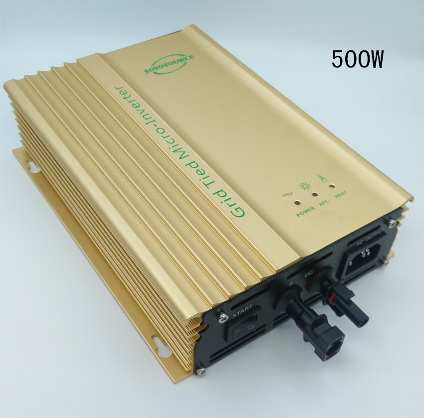 500 Watt Grid tie micro inverter high efficiency,VOC 56~86V for solar panel or for 48V Battery  Pure Sine Wave Inverter CE high quality 1200w solar grid tie micro inverter high efficiency