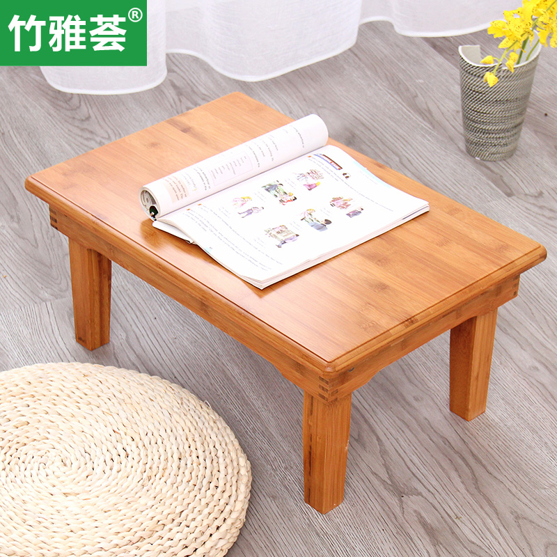 Solid Wood Tables Kang Table Small Tatami Coffee Folding Bed Computer Desk Specials Teasideend
