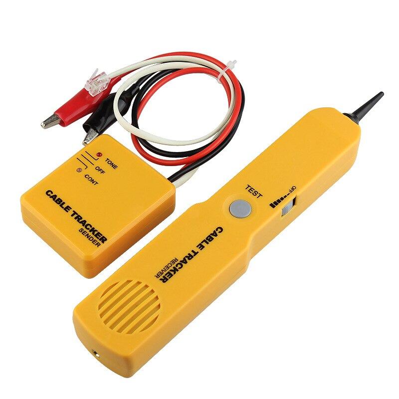 Fil Ligne Finders Câble Test Trackers Tone Generator Sonde Durable Testeur Expéditeur Récepteur XXM8
