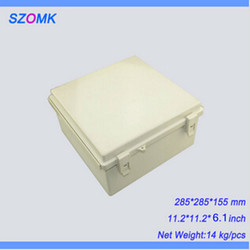 1 pezzo, custodia impermeabile casse acustiche elettronica di buona qualità, 285*285*155mm abs custodie di plastica scatola di derivazione elettrica